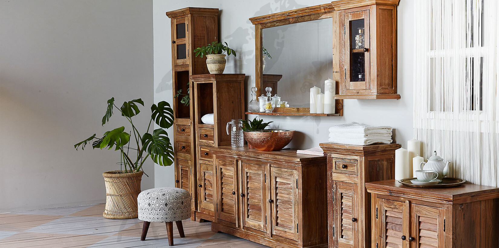 Bathroom Collection Teak