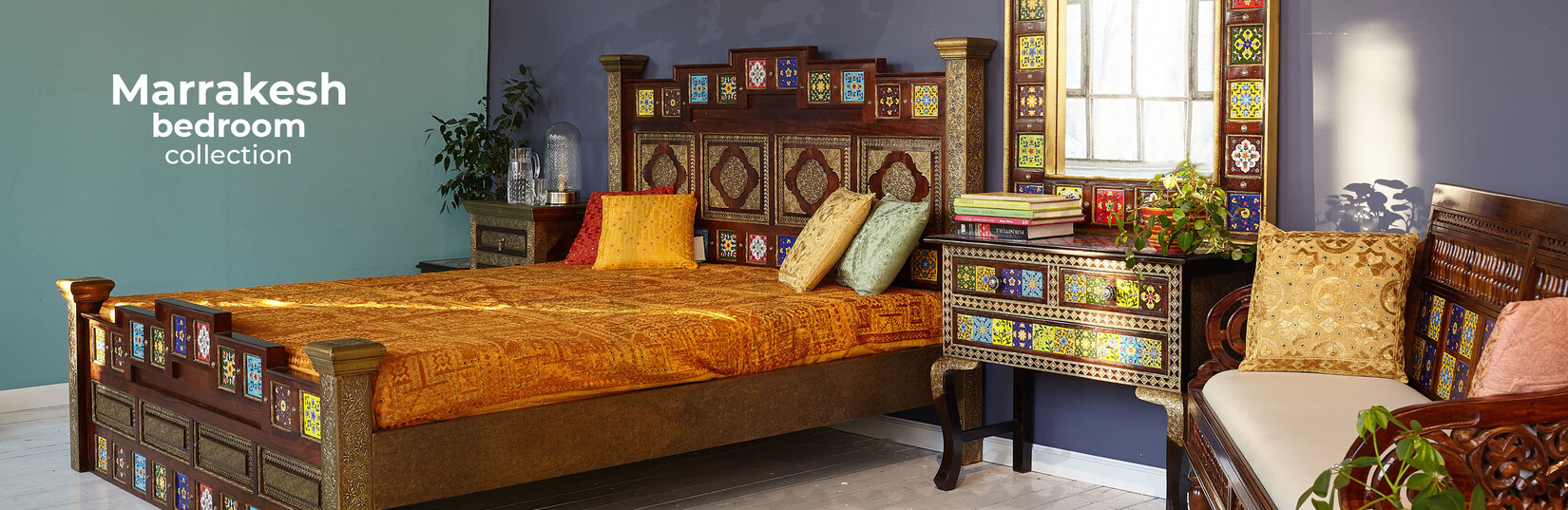 Marrakesh bedroom collection