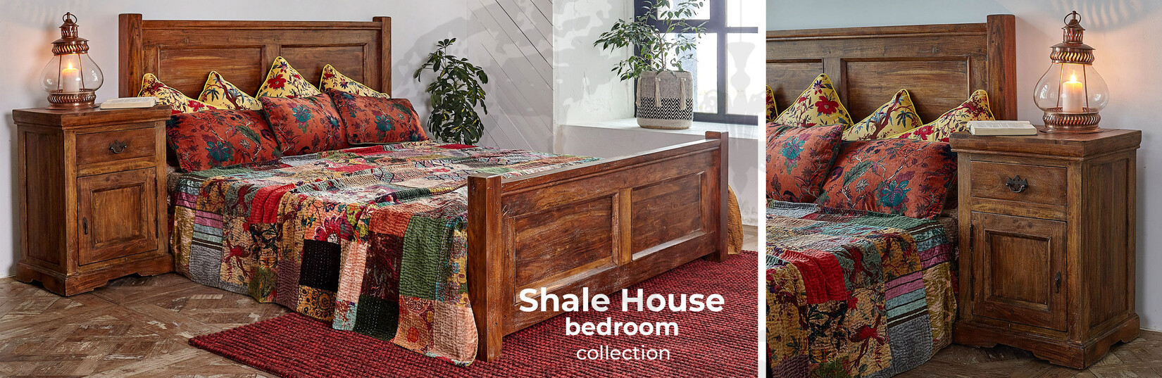 Shale House bedroom